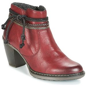 Rieker 55298-35, Bottes Classiques Femme, Rouge (Rouge Combiné), 41 EU (7.5 UK)
