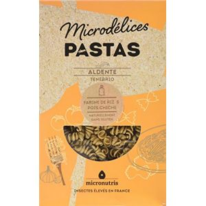 Micronutris Pâtes Sans Gluten Aldente Ténébrio 200g