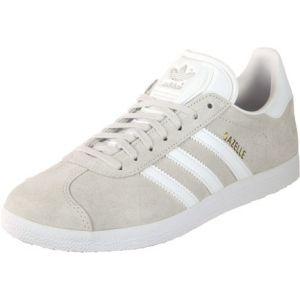 Adidas Baskets cuir Gazelle Gris Clair - Taille 36;42