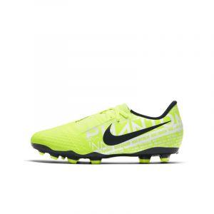 Nike Chaussure de footballà crampons pour terrain sec Jr. Phantom Venom Academy FG pour Enfant plus âgé - Jaune - Taille 35.5 - Unisex