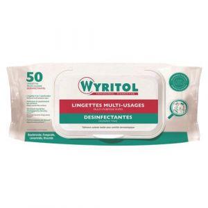 Wyritol Lingette désinfectante toute surface