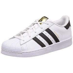 Adidas Superstar Foundation, Baskets Mixte Enfant, Blanc (Footwear White/Core Black/Footwear White 0), 30 EU