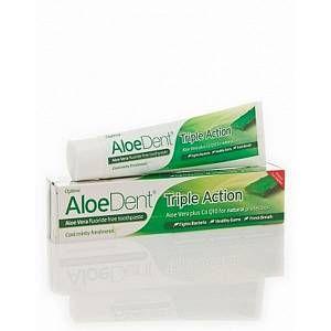 AloeDent Original Aloe Vera Toothpaste with CO-Q-10 Mint Flavour - 100ml