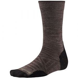 Smartwool PhD Outdoor lumière Crew Chaussettes pour Homme Medium taupe