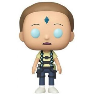 Funko Pop Animation: Rick & Morty-Death Crystal Morty Collectible Figure, 44249, Multicolour