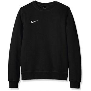 Nike Team Club Crew - Sweatshirt - Manches Longues à Encolure Ras du Cou - Homme - Noir (Black/Football White) - Taille: XL