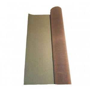 McCover Rouleau de bardeau bitumé 10 x 1 m - Coloris - Vert, Largeur - 1 m, Longueur - 10 m Vert - 10 m / 1 m /