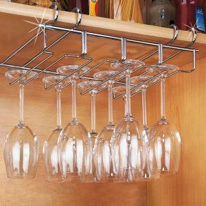 Wenko 2748140100 - Acrroche-verres 12 en inox