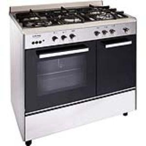 glem ga9pcgix cuisini re tout gaz 5 foyers comparer avec. Black Bedroom Furniture Sets. Home Design Ideas