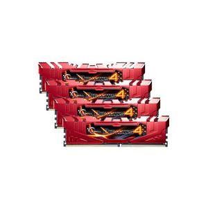 G.Skill F4-2400C15-16GRR - Barrette mémoire Ripjaws 4 Series 16 Go (2 x 8 Go)  DDR4  2400 MHz CAS 15