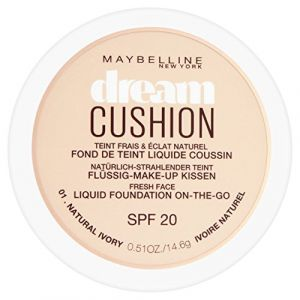 Maybelline Dream Cushion 01 Ivoire naturel - Fond de teint liquide coussin