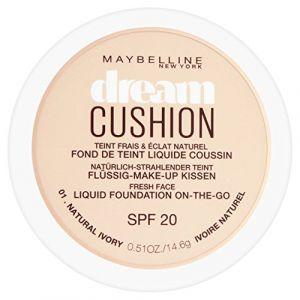 Maybelline Dream Cushion 01 Ivoire naturel - Fond de teint liquide coussin