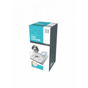 M pets Puppy Pad - Support pour tapis éducateur silicone pour chiot taille M