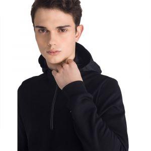 Le Coq Sportif Sweat-shirt Sweat à capuche Tech 1.2 Zip Noir - Taille EU XXL,EU S,EU M,EU L,EU XL