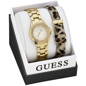 Guess W0507L - Coffret montre pour femme avec 2 bracelets