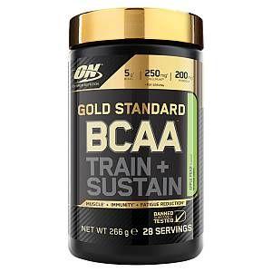 Optimum nutrition Gold Standard BCAA Train + Sustain - 266gr fraise/kiwi