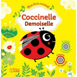 Livre sonore Coccinelle Demoiselle