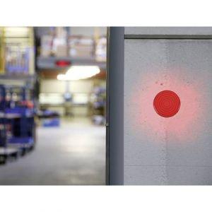 Velleman FLASH STROBOSCOPIQUE A LED ROUGE 12 VCC ø 100 mm HAA100RN