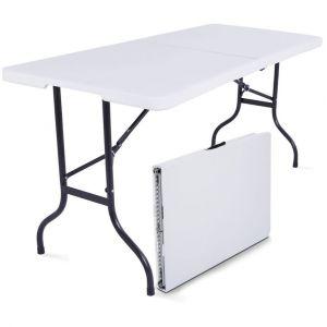 MobEventPro Table pliante 180cm 8 places PEHD
