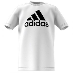 Adidas T-Shirt Must Haves - Blanc/Noir Enfant - Blanc - Taille 152 cm