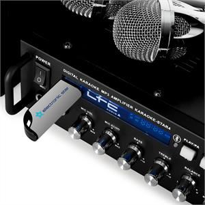 "LTC Audio BOOST-KS40 - Ensemble karaoké ""plug and play"" 2x75W avec bluetooth"