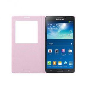 Samsung EF-CN900 S View Cover orange - Etui à rabat pour Galaxy Note 3