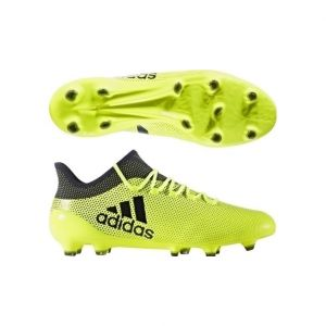 Adidas X 17.1 FG, Chaussures de Football Homme, Jaune (Amasol/Tinley/Tinley), 44 EU