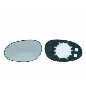 Alkar SPILU Verre de rétroviseur (rétro extérieur) SMART FORTWO, RENAULT CLIO, SMART ROADSTER (12901)