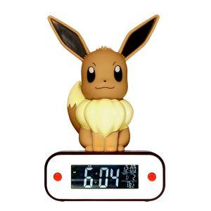 Teknofun Lampe LED Pokémon Evoli avec fonction réveil
