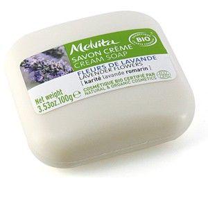 Melvita Savon crème fleurs de lavande