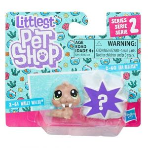 Littlest PetShop Duo mini figurines Série 2: Wally Walro et Petshop mystère