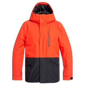Quiksilver Vestes Mission Youth - Poinciana - Taille 10 Années