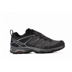 Salomon X Ultra 3 GTX, Chaussures de Randonnée Basses Homme, Noir (Black/Magnet/Quiet Shade), 46 2/3 EU