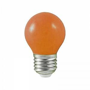 Vision-El Ampoule LED orange 1W (9W) E27 bulb - 7628B