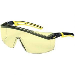 Uvex 9164220 Lunettes de sécurité Astrospec 2.0 Ambre noir/jaune