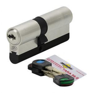 Bricorama Cylindre de porte 30 x 40 mm 5 clés debrayables Carte de reproduction Barillet anti casse