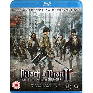Attack On Titan: Part 2 - End Of The World [Edizione: Regno Unito] [Blu-ray] [Import italien]
