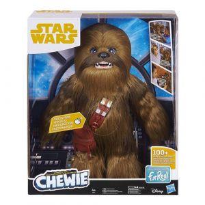 Hasbro Peluche Interactive 50 cm - Star Wars - Chewbacca Interactif