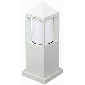 Albert Leuchten Borne d'éclairage 556 Blanc, 1 lumière Moderne Extérieur 556