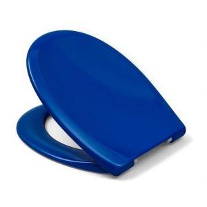 Cedo Abattant Kapalua Beach Pop bleu 46x38,3x4,9cm - Pratique et hygiénique - Aspect luxueux et durable - Coloris bleu - Frein de chute déclipsable.