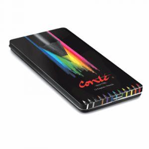 Conté à paris Conte Crayons de coloriage Boîte Métal de 12