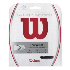 Wilson Ficelle Synthetic Gut Power 12.2 M - Black - Taille 1.30 mm