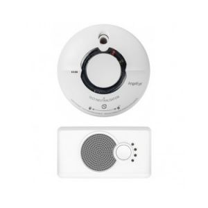 FireAngel Pack 1 Détecteur de fumée WST-AE630 + 1 Dispositif d'alerte sonore basse fréquence