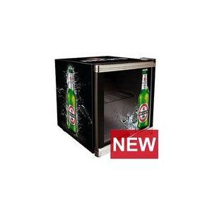 Husky Coolcube - Réfrigérateur publicitaire Bière Becks