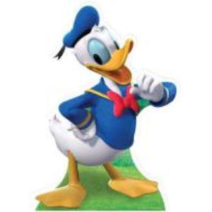 Figurine en carton taille réelle Donald Duck