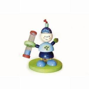 Hess-Spielzeug Sablier pour laver des dents Chevalier