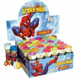 Kim'play Lot de 36 bulles de savon 6 0ml - Spiderman