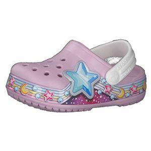 Crocs Fun Lab Star Band Clog, Sabot Mixte Enfant, Ballerina Pink, 17.5 EU