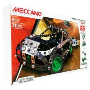 Meccano 6026397 - Rallye 25 modèles motorisés