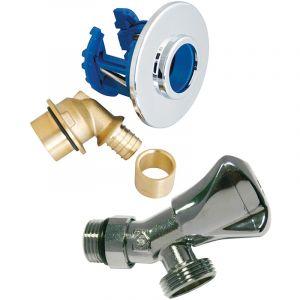 Somatherm Kit fixoplac mal + robinet gliss d12 - MR PLOMBERIE